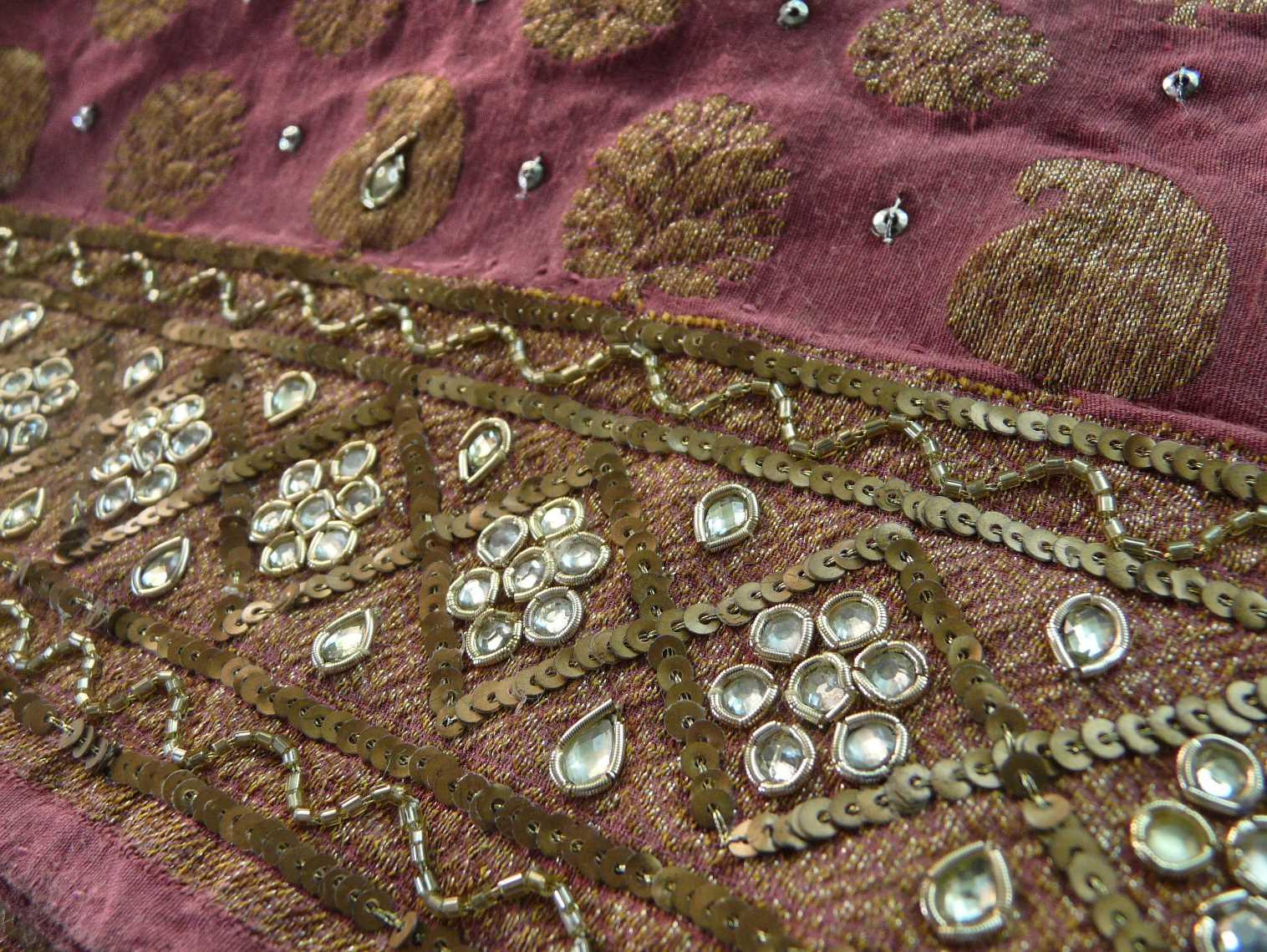 undergrowth sari
