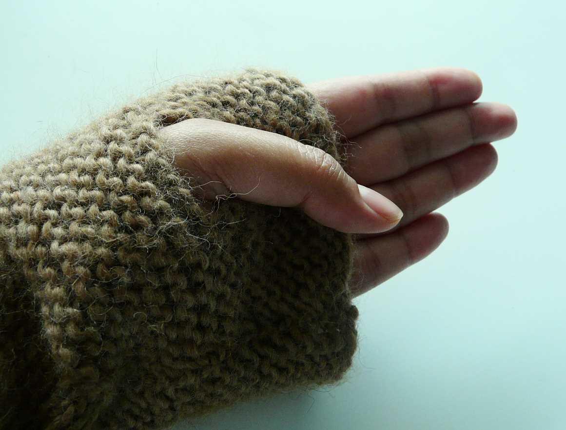small thumb